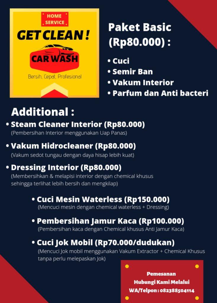 harga cuci mobil pekanbaru